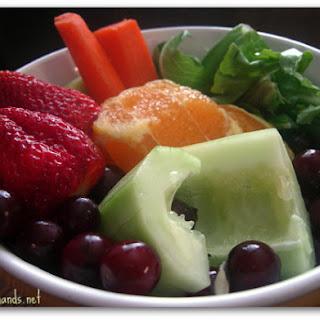 Strawberry, Orange & Cucumber Juice.