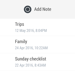 Centrallo – Notes Lists Share- screenshot