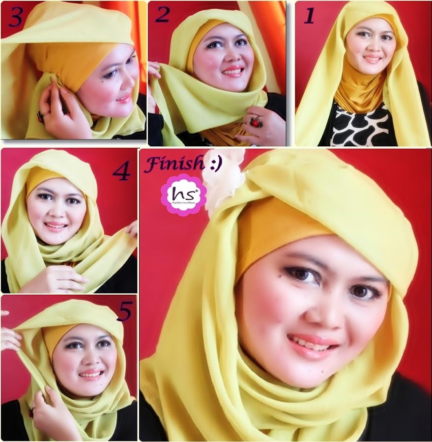 Tutorial Hijab Modern Foto Tutorial Hijab Modern New Tutorial Hijab