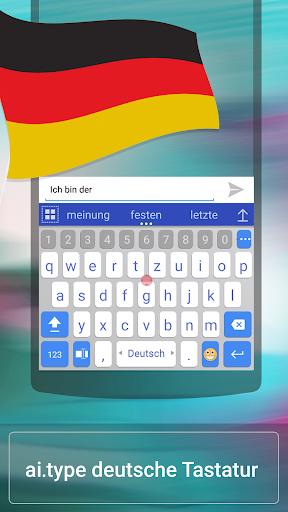 German for ai.type Keyboard  screenshots 1