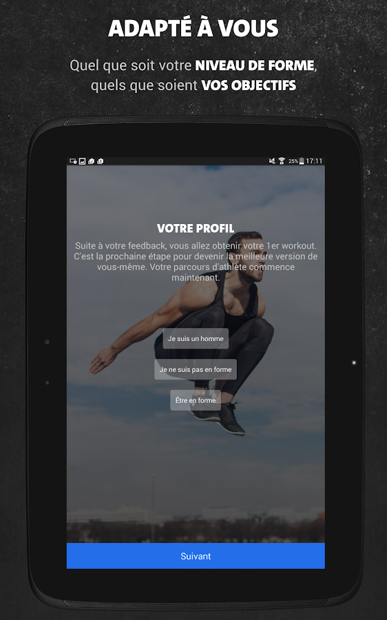 Freeletics Bodyweight – Capture d'écran