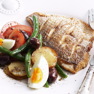 Grilled Snapper Niçoise