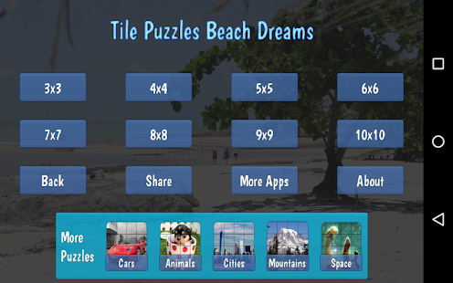 Tile Puzzles · Beach Dreams- screenshot thumbnail