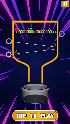 Classic Pin Pull Puzzle 3D Ball Bucket Drop 1.0 screenshots 2