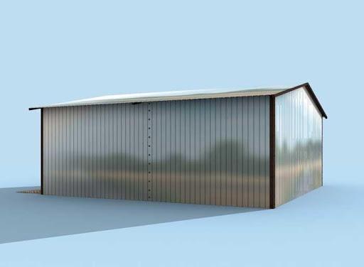projekt GB18 Garaż Blaszany