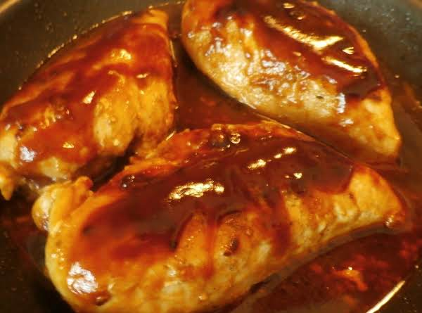 Stovetop Seasoned & Basted Chicken Breasts Recipe
