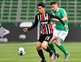 Francfort s'impose au Werder de Brême