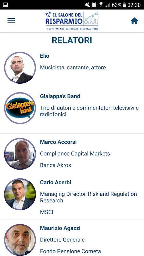 Salone del Risparmio- screenshot