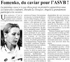Photo: 02-10-96 N2F Passeuse de grand talent, Angela Fomenko déjà déterminante