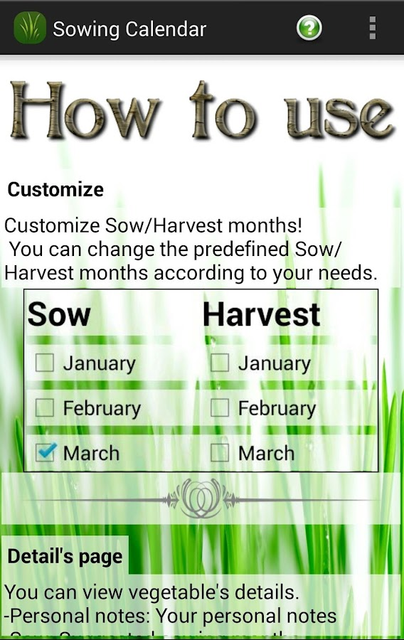 Sowing Calendar Gardening Android Apps On Google Play