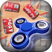 Hand spinner-3D Can Knockdown
