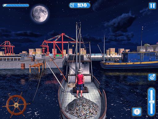 Fishing Ship Simulator 2020 : Fish Boat Game painmod.com screenshots 6
