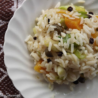 Dried Apricot and Currant Rice