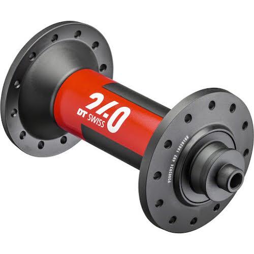 DT Swiss 240 EXP Front Hub - QR x 100mm, 20h, Black/Red