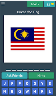 Guess The Flag- World Flag Quiz Screenshot