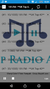 Pop Radio App screenshot 1