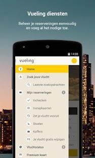 Vueling -Goedkope Vliegtickets: miniatuur van screenshot