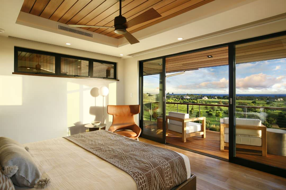 A Large Balcony for Master Bedroom