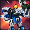 Superhero Flying Future Robot City Rescue Fighter icon