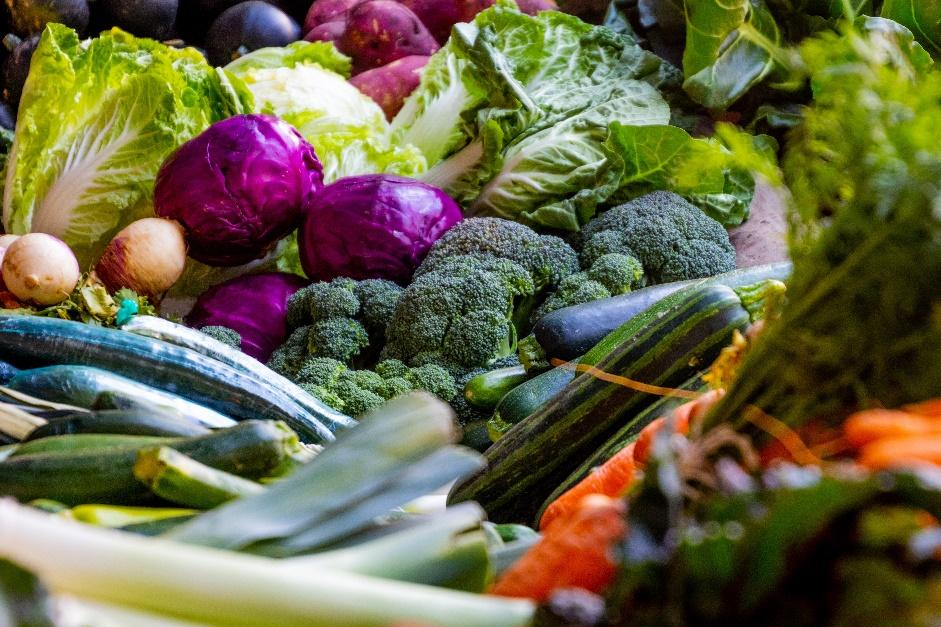 A picture containing food, vegetable, plant, different  Description automatically generated