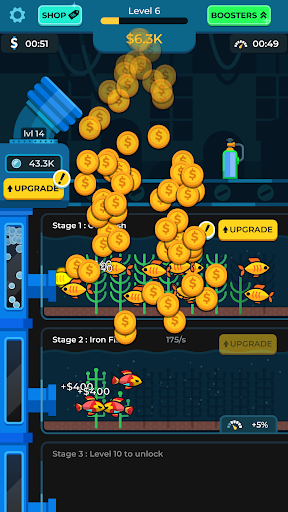 Idle Fish Aquarium filehippodl screenshot 3
