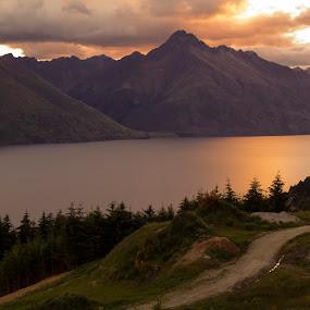 After the sunset by Martina Frnčová - Landscapes Mountains & Hills (  )