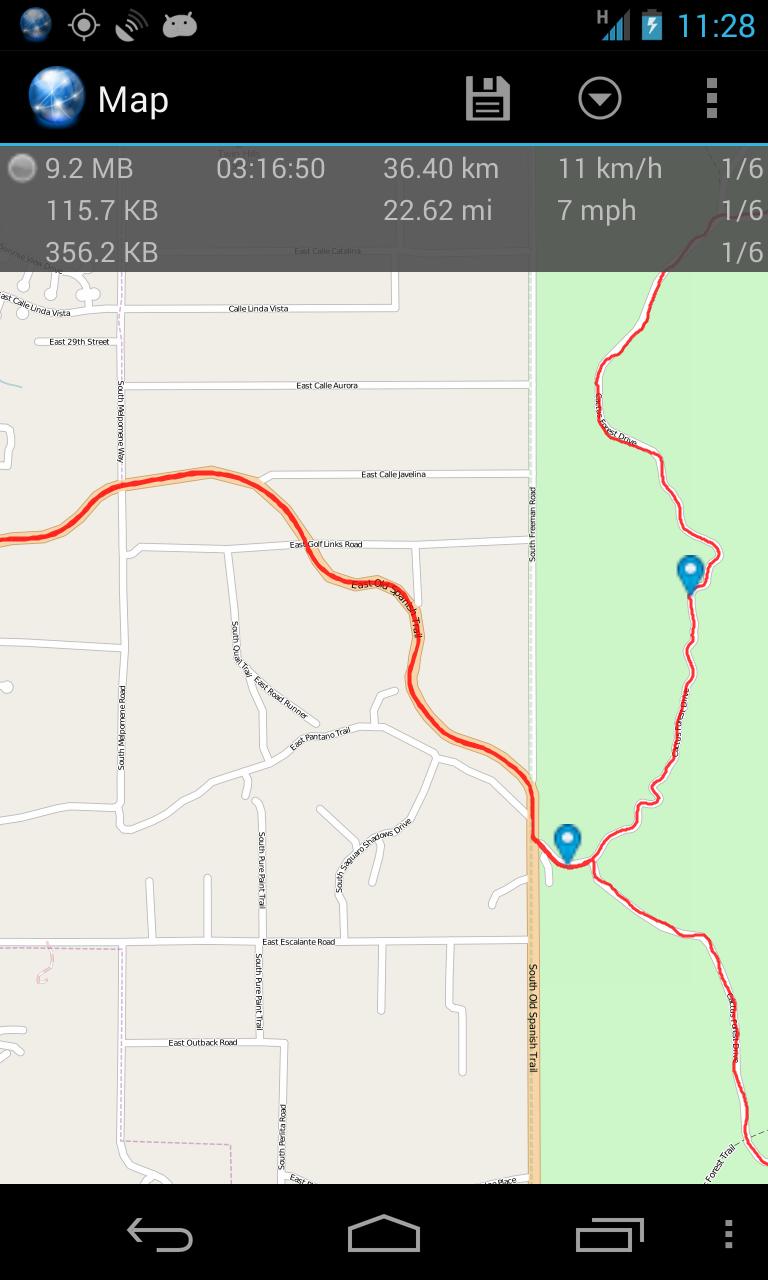 Ultra GPS Logger Screenshot 5