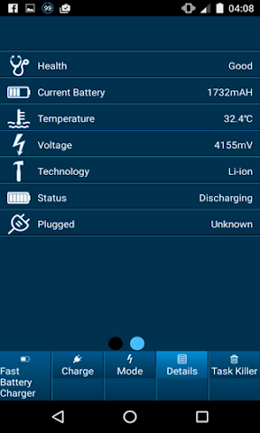 android Fast Battery Charger mAH Screenshot 4