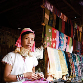 Long Neck, Thailand by Liang Deoz - City,  Street & Park  Markets & Shops ( pwcmarkets )