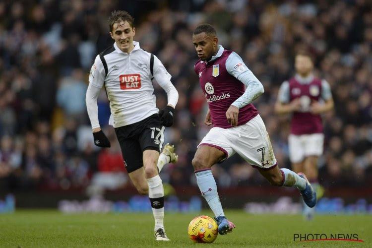 De Sart et Derby County défaits à Aston Villa, Knockaert buteur avec Brighton