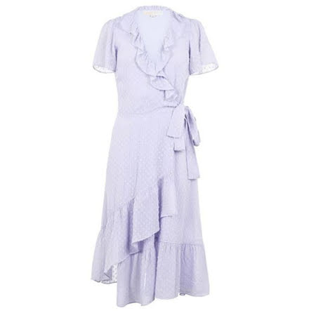 SS Wrap Dress, lavender mist
