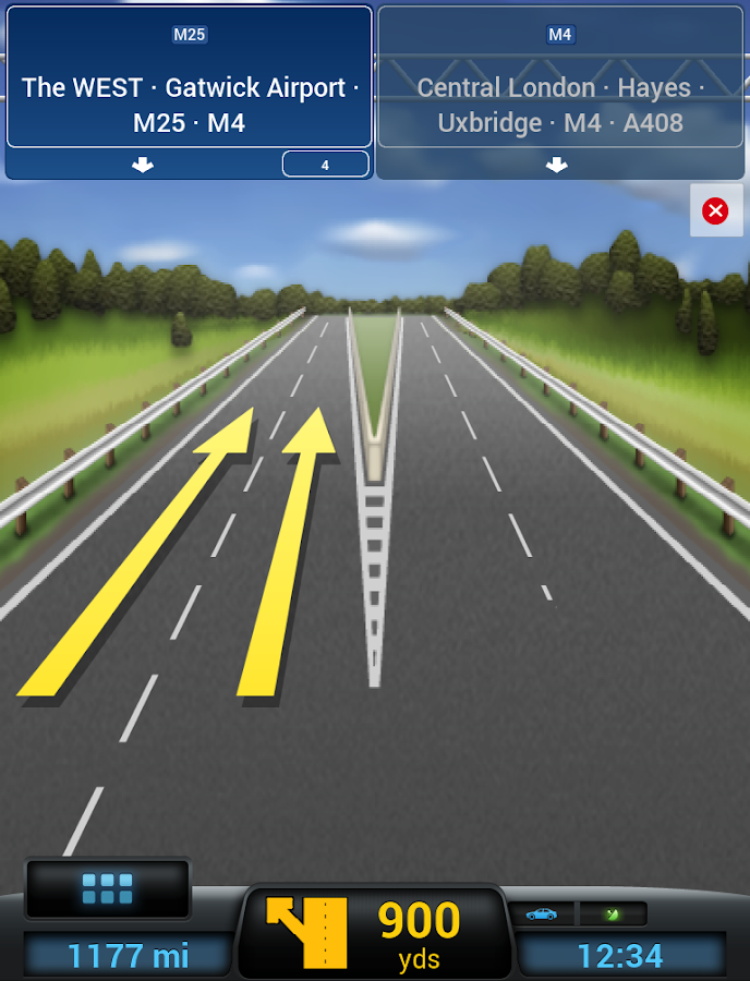 CoPilot Europe Navigation- screenshot