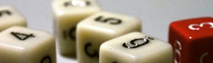 Photo: six sided dice