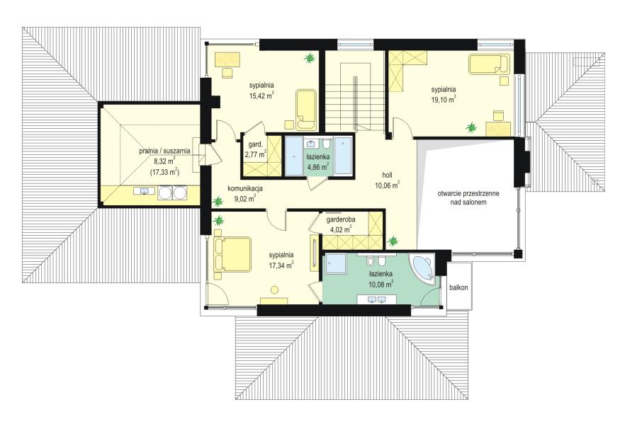 Projekt Domu Dom Z Widokiem 2 Tjl 816 22197m²