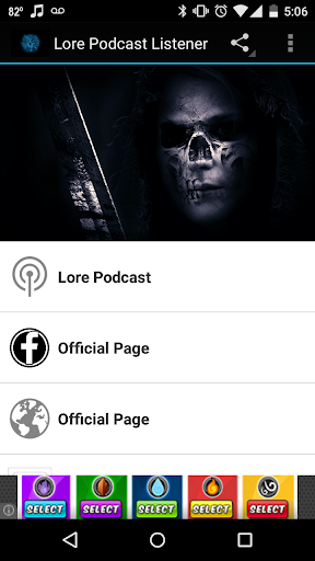 Unofficial Lore Podcast FanApp