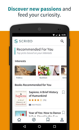 Scribd - Reading Subscription screenshot 3