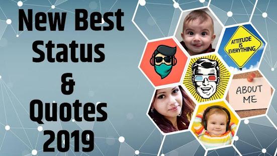 New Best Status & Quotes -2019