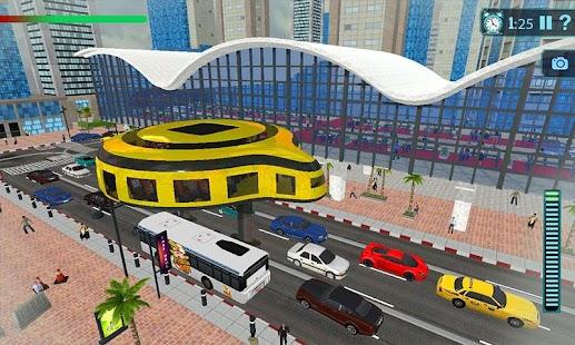 Gyroskopický Elevated Doprava Autobus: Záchranný D - náhled
