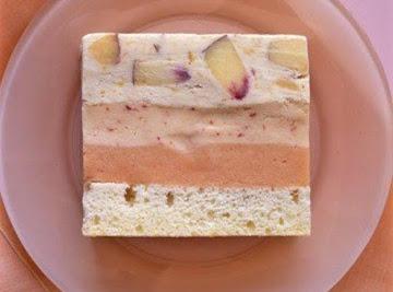 Peach Ice Cream Cake Recipe