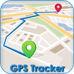 GPS Route finder & Navigation Icon