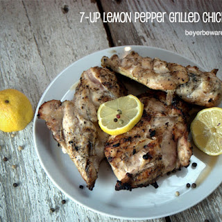 7-Up Lemon Pepper Grilled Chicken Recipe