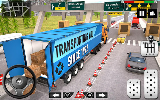 Cargo Delivery Truck Parking Simulator Games 2020 apkmr screenshots 3