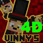 """""""Vinny's"""" 4D skins pack for MCPE v 1.2 new! icon"""