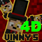 """Vinny's"" 4D skins pack for MCPE v 1.2 new! Icon"