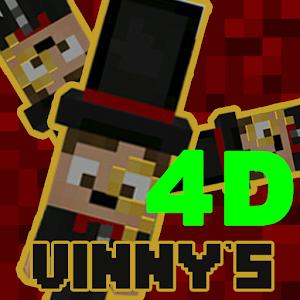 """""""Vinny's"""" 4D skins pack for MCPE v 1.2 new! for PC"""