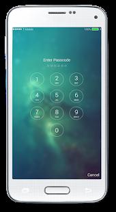 Fingerprint LockScreen IOS - náhled