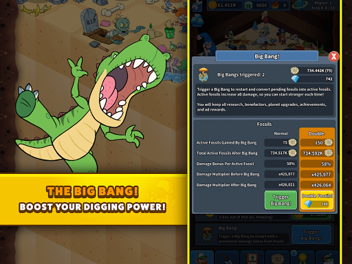 Tap Tap Dig 2: Idle Mine Sim screenshots 16