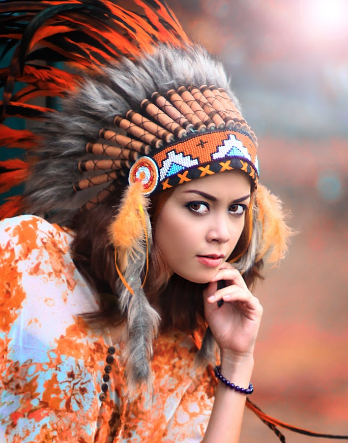The Indian Girl by Chandra Irahadi - People Fashion ( beautiful, woman, , best female portraiture )