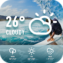 World weather widget& forecast icon