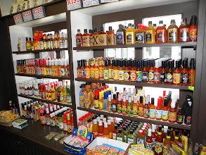 Photo: Hot sauces in Charleston